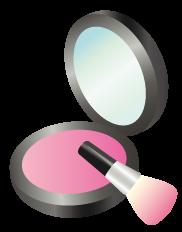 ピンク系チーク